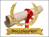 Reception baccalaureat